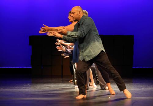 Ich und die Anderen (tanzwärts 2018) Foto: W. Hünerbein